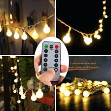 Decorative Patio String Lights Big Bulb Patio String Lights Globe Cafe Lighting Garden Light