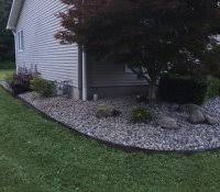 Rock Backyard Landscaping Ideas Low Maintenance Yard Ideas And Pictures Gardens With Rocks For