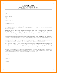 sample cover letter teaching sample cover letter for teachers