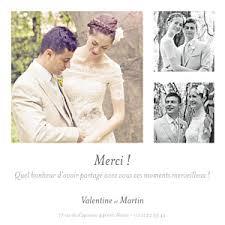 faire part de remerciement mariage carte de remerciement mariage carte de remerciement à