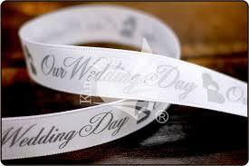 satin ribbon bulk our wedding day satin ribbon bulk ribbon supply king