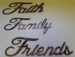 trend faith family friends wall art 12 with additional fetco home
