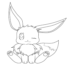 outline of pokemon eevee images pokemon images