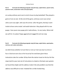 ideas collection paragraph punctuation practice worksheets with
