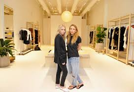 mary kate and ashley olsen open the first elizabeth and james