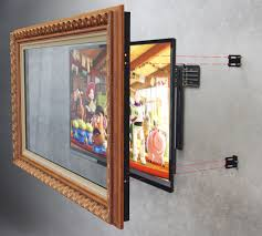 tv mirror frame kit 143 nice decorating with how to frame a