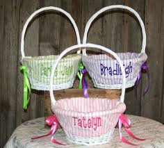 monogrammed basket 13 best easter baskets images on monogrammed easter