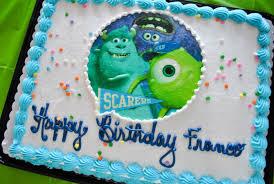 monsters inc birthday cake monsters birthday partymediterranean baby motherhood