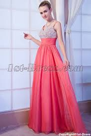 low back plus size coral formal evening dress img 9951 1st dress com
