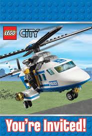 Lego Invitation Cards Amazon Com Lego City Invitations Party Accessory Toys U0026 Games