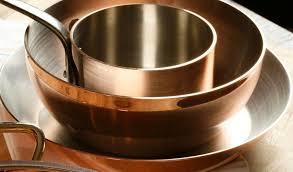 batterie de cuisine en cuivre a vendre l entretien du cuivre pour les cuisines professionnelles conseils