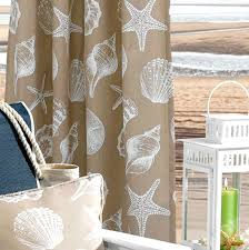 White Outdoor Curtain Panels Outdoor Coastal Curtain Panels Completely Coastal