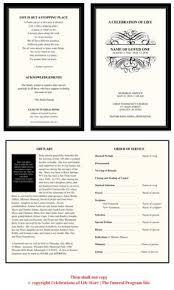 printable sunset obituary program template for microsoft word