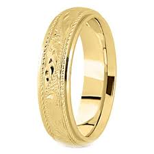 mens yellow gold wedding bands yellow gold wedding bands from mdc diamonds