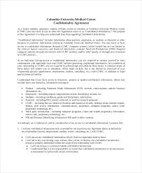 Biology Resume Template 41 Free Non Disclosure Agreement Templates Samples U0026 Forms