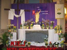 Easter Sunday Altar Decorations by Saint Michael Church Easter U2013 2016