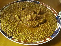 cuisiner du veau en morceau lentilles a la viande de tete de veau lhame rasse cuisine bouchra