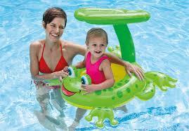 amazon com intex recreation 56584ep froggy friend shaded baby