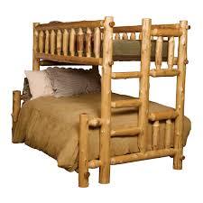 Log Bunk Bed Kits With Nice Cedar Rustic Bunk Beds Twin Over Twin - Log bunk beds