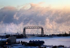 lake superior sea smoke cold enough for ya minnesota town hits 41 below zero duluth