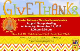 christian thanksgiving songs november 2015 greater baltimore christian homeschoolers