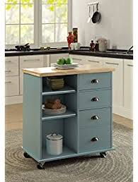 kitchen cart and island kitchen islands carts amazon com