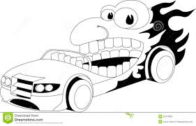 cartoon car black and white cartoon car stock vector image of background sketch 50310681
