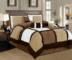 Suede Bed Frame 7 Micro Suede Patchwork Comforter Set Machine Washable Bed