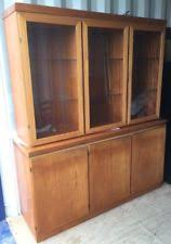 Glass Fronted Sideboards Vintage Retro Sideboards U0026 Buffets With Glass Fronted Ebay