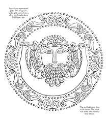 usborne celtic patterns colour