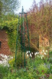 garden obelisk trellis home outdoor decoration