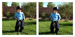 Kids Police Halloween Costume Perfect Halloween Costume Chasing Fireflies