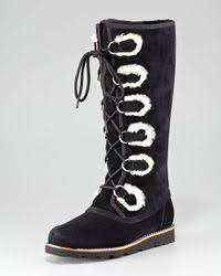 ugg rommy sale ugg rommy laceup boot in black lyst