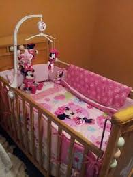 Crib Bedding Set Minnie Mouse Minnie Mouse Nursery Jofuff Pinterest Minnie Mouse Nursery