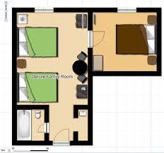 family room floor plans deluxe family hotel room in fernie bc