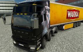 truck mitsubishi fuso euro truck simulator 2 mitsubishi fuso youtube