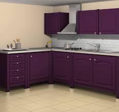 meuble de cuisine aubergine charmant plan de travail couleur aubergine 2 le simuateur