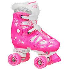 playwheels trolls roller skate junior size 6 12 with