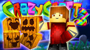 minecraft crazy craft 3 spooky halloween haunted house 75 youtube