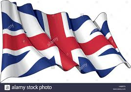 England Flag Colors Illustration Of A Waving Union Jack Of The Period 1606 1801 Also