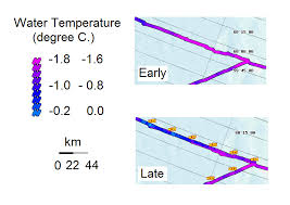 Cape Cod Water Temp - bering sea ice expedition 2007 daily log