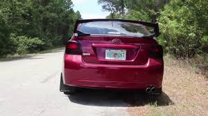 subaru hatchback custom rally 2013 subaru impreza 2 0i uel header custom exhaust youtube
