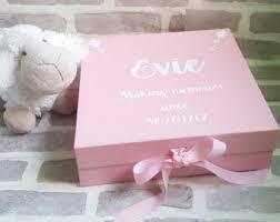 keepsake baby gift baby memory box etsy
