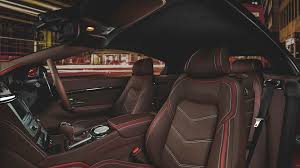 pink maserati interior vilner gives maserati grancabrio sport special interior