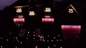 cary family u0027s halloween light display turns heads abc11 com