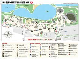 Las Vegas Map 2015 by Summerfest Music Festivals Eventful
