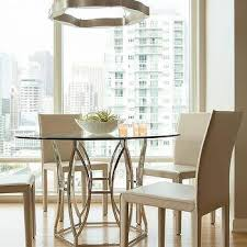 high rise kitchen table contemporary high rise dining room design ideas