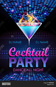 disco background cocktail party vector u0026 photo bigstock