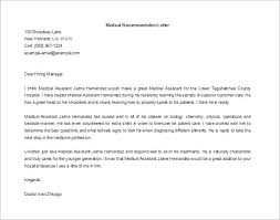 awesome collection of sample reference letter for medical doctor