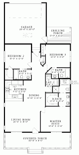 two bedroom house floor plans 2 ranch country style house plan
